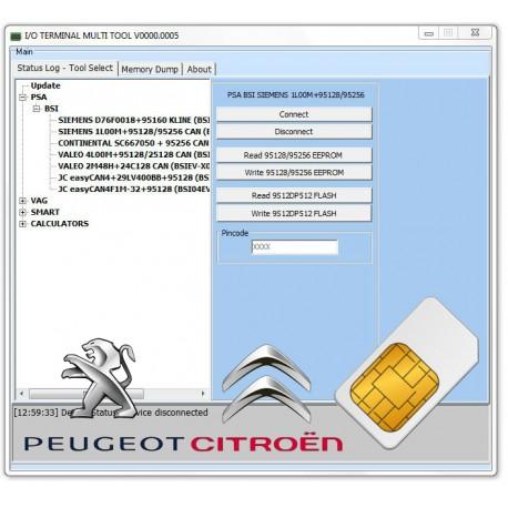 I/O Terminal Licence basique V2