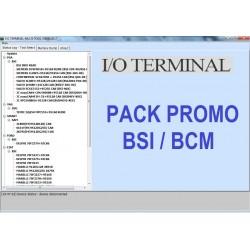 I/O Terminal Pack promo BSI / BCM